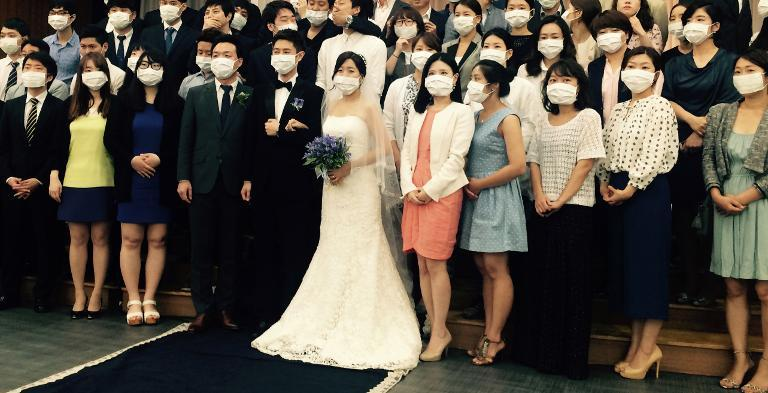 Wedding Photo Becomes Symbol Of South Korea Mers Scare