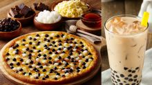 Pizza Hut and Domino's in Taiwan both have bubble-tea-inspired pizza on their menu