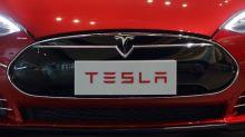 Stocks on the move: Tesla, Visa, Apple, Alaska Air