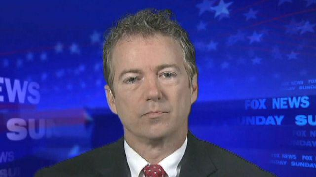 Sen. Rand Paul on top issues facing Congress