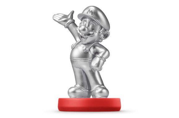 Silver Mario Amiibo will drive collectors insane this month