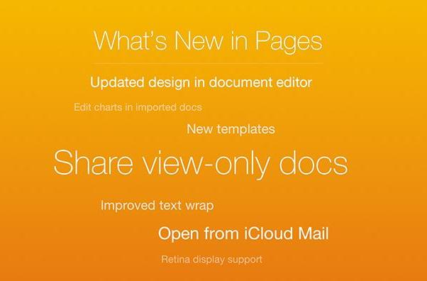 Greater usability for iWork and more news from April 1, 2014