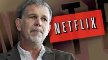 Netflix's stock sinks as CEO sees 'tough competition' from Apple, Disney