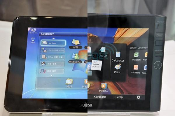 Fujitsu's Windows 7 tablet concepts make cameo at CEATEC