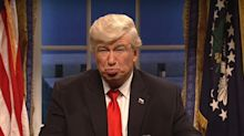 Alec Baldwin says he's 'overjoyed' to have lost his job playing Donald Trump on 'SNL'