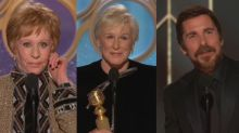 The most memorable moments from the Golden Globes