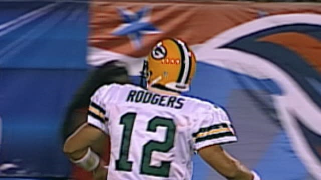 Green Bay Packers quarterback Aaron Rodgers' first ever preseason touchdown drive