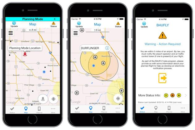 FAA starts testing its drone safety app