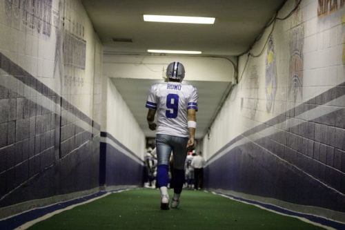 Tony Romo's done ... or is he? (AP)