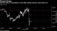 BOE Steps Up Work on Negative Rates Amid Uncertain Outlook