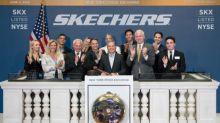 Skechers Celebrates 20 Years on the New York Stock Exchange