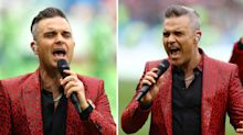 Robbie Williams called 'Poundland Morrissey' after mixed reception to World Cup performance