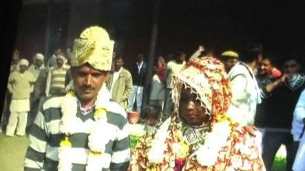 Prisoner ties knot in Jail compound in Jind