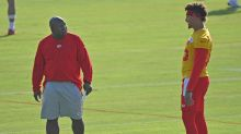 Chiefs training camp notebook: Eric Bieniemy acknowledges Monday struggles, talks offensive line