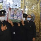 Iran holds funeral for slain military nuclear scientist