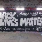 Council paints over Black Lives Matter mural after complaint about 'offensive graffiti'