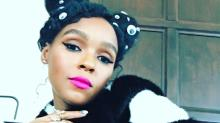Janelle Monáe Brings New Meaning to the Term 'Hairy Eyeball'
