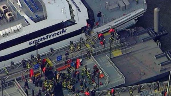 Ferry accident injures dozens in NYC