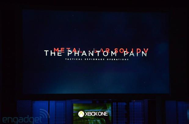 Metal Gear Solid V: The Phantom Pain coming to Xbox One, not an exclusive