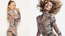 """Larissa Manoela """"imita"""" Gisele com vestido """"vintage"""" de R$ 6 mil"""