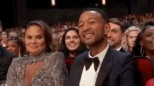 Chrissy Teigen's epic reaction wins the Emmys opening monologue