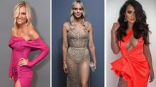 Naked dresses, thigh-high slits dominate Brownlows red carpet