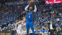 Westbrook posts historic triple-double for new-look Thunder