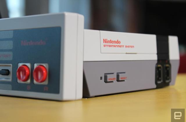 Nintendo's NES Classic has been discontinued in Europe too
