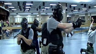 Raw Video: Active Shooter Training