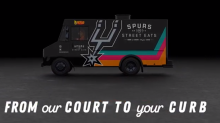 The Spurs now have a street eats food truck and it's hitting San Antonio roads next month