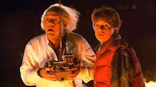 Back to the Future's Michael J Fox and Christopher Lloyd reunite more than 30 years after last movie