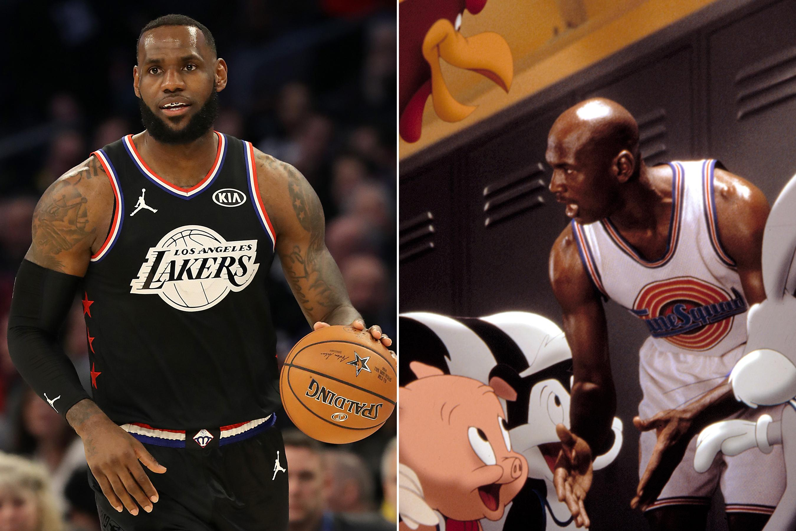 83b3a9842 LeBron James  Space Jam 2 scores 2021 release date