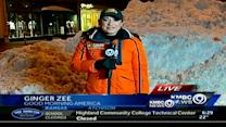 Storm brings GMA's Ginger Zee to KC