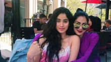 Sridevi and Jhanvi Kapoor look their fashionable best in this endearing photo
