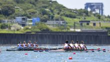 Rowing-Hot heats no sweat as crews adapt to Tokyo conditions