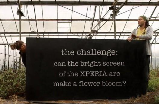 Sony Ericsson enlists hippies to unleash the flower power of the Xperia Arc