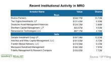 Boston Partners Added a Major Position in Marathon Oil