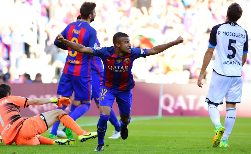 Liverpool, Arsenal and Tottenham 'monitoring' Barcelona star Rafinha Alcantara