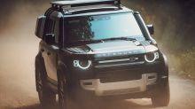 2020 Land Rover Defender goes off-road, and upmarket