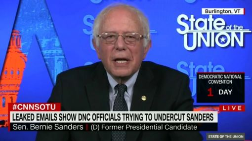 Bernie Sanders says leaked emails show he was right about the DNC all along