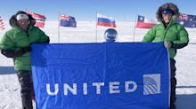 How United Airlines made it to the South Pole