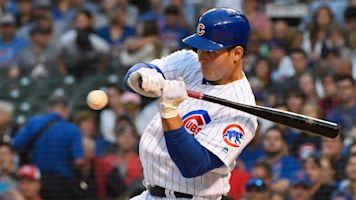 Anthony Rizzo makes dramatic return for Cubs