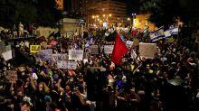 Police arrest anti-Netanyahu protesters