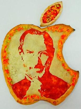 You can eat the face of Steve Jobs, if that's your thing