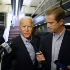 The Latest: Biden: Charlottesville was epiphany on 2020 run