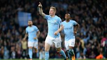 Manchester City confirm Kevin De Bruyne is out for three months with knee injury
