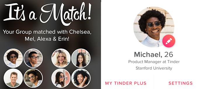 Tinder Social is a new feature for finding friends to hang with