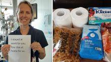 'Felt like Christmas': Aussie nurse wakes up to surprise on doorstep