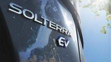 Subaru announces Solterra all-electric SUV