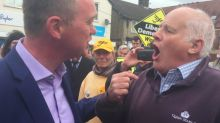 Watch: Lib Dem leader Tim Farron accosted by furious Brexit voter on campaign trail
